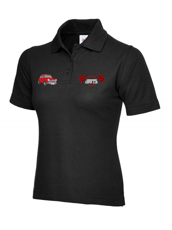 Polo Shirt Ladies With Embroidered Mini Or Mini